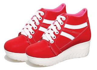 Sepatu Wedges Anak Perempuan  Bertali BAS 613