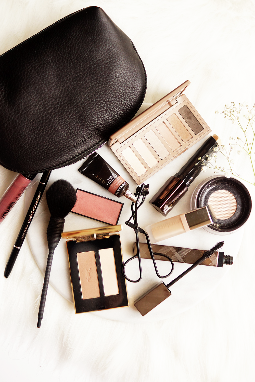 barely-there-beauty-blog-flatlay-photography-whats-in-my-makeup-bag