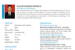 Contoh CV Dalam Bahasa Inggris Terbaru
