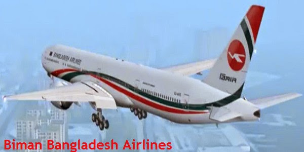 Buy Biman Bangladesh Airlines Cheap Tickets