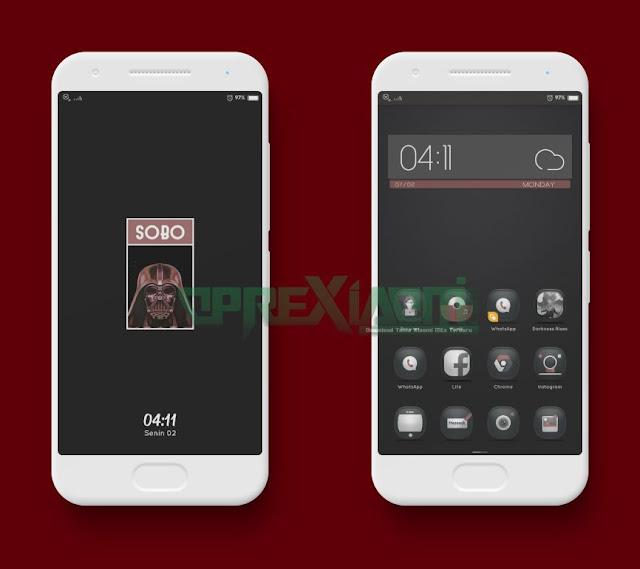 Black Theme Sobo Dark Mtz Full Mod For Xiaomi V9 Tembus Sampe Ke Akar