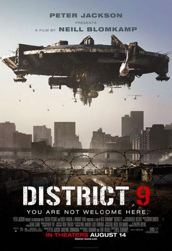 District 9 2009 Dual Audio ORG Hindi 480p BluRay 300MB poster