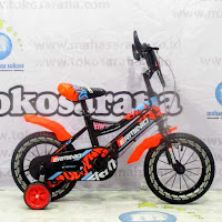 12 erminio light bmx sepeda anak