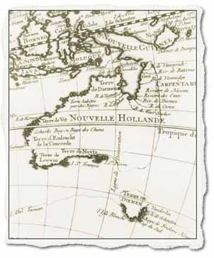 A history of the discovery of australia by the europeans