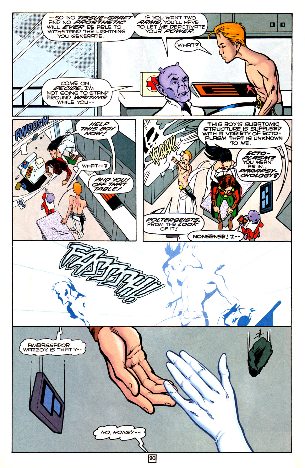 Legion of Super-Heroes (1989) 82 Page 20