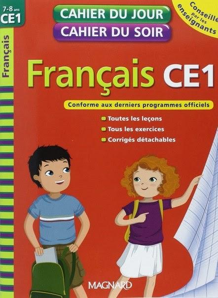 Cahier Du Jour Cahier Du Soir Fran Ais Ce1 PDF