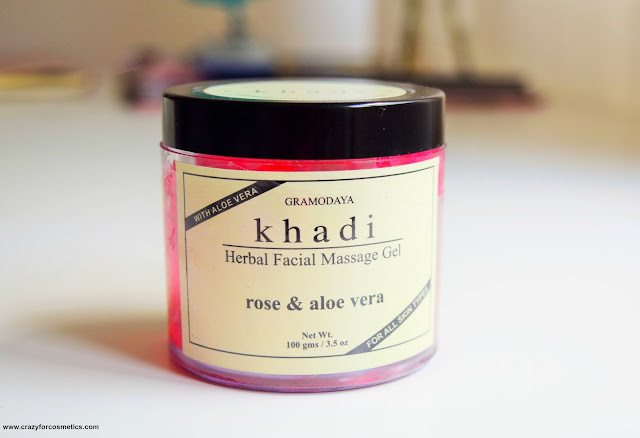 Khadi Rose Aloe Vera Massage Gel buy online