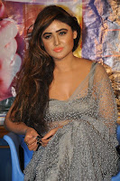 Actress Sony Charistha Latest Pos in Silver Saree at Black Money Movie Audio Launch  0028.jpg