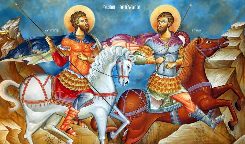 Άγιος Θεόδωρος ο Στρατηλάτης και η καθοριστικής σημασίας μάχη στο Δορύστολο