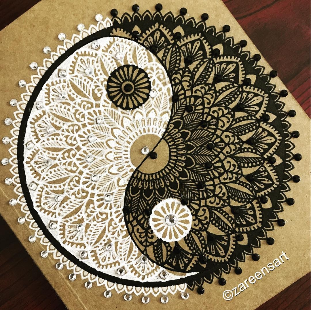 04-Yin-and-Yang journal-with-crystals-Mandala-Drawings-on-Journals-Calendar-and-Boxes-www-designstack-co