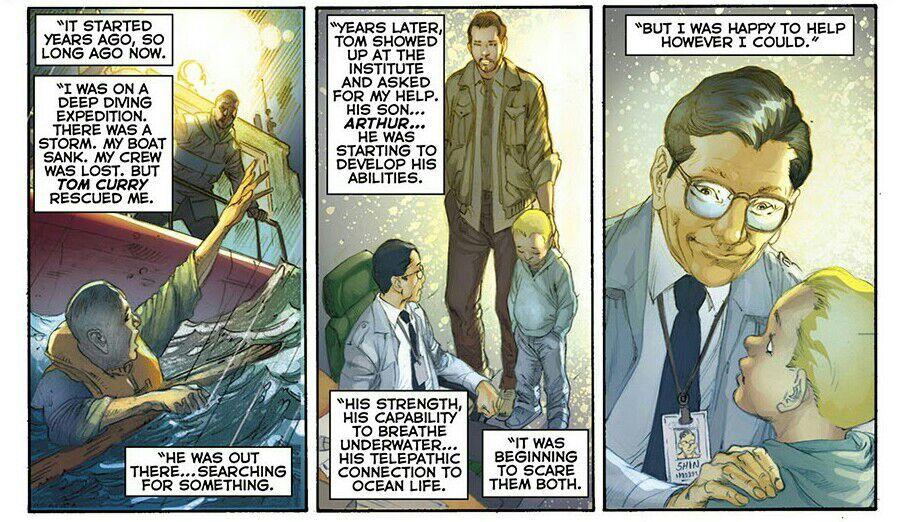 Aquaman dan Dr Stephen Shin