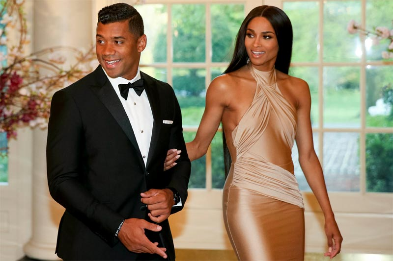 Lol. Look at what happens when Ciara and Russell Wilson swap faces