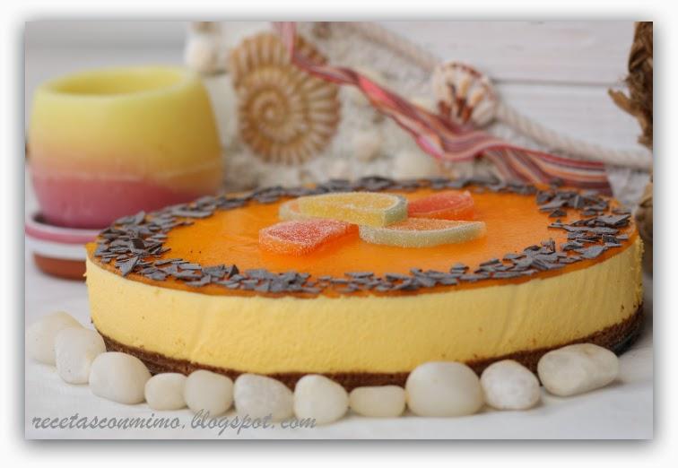 Cheescakes originales por la red cocina - Postre con mandarinas ...