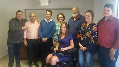 Miracatu recebe visita da deputada federal Mara Gabrilli