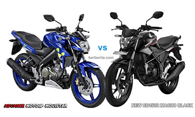Honda CB150R Streetfire vs Yamaha New Vixion Advance