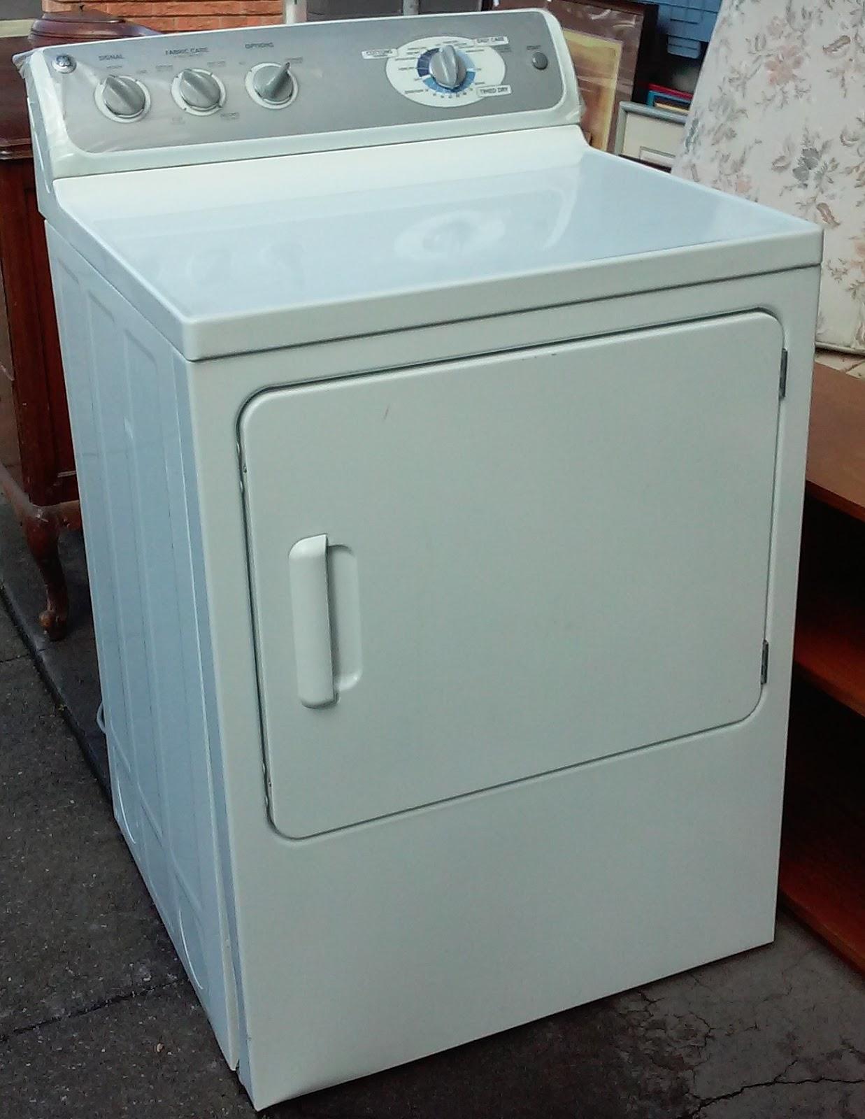 Electric Clothes Dryer ~ Uhuru furniture collectibles sold ge dwsr eg ww