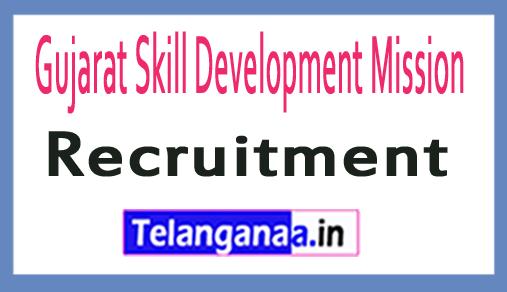 Gujarat Skill Development Mission GSDM Recruitment