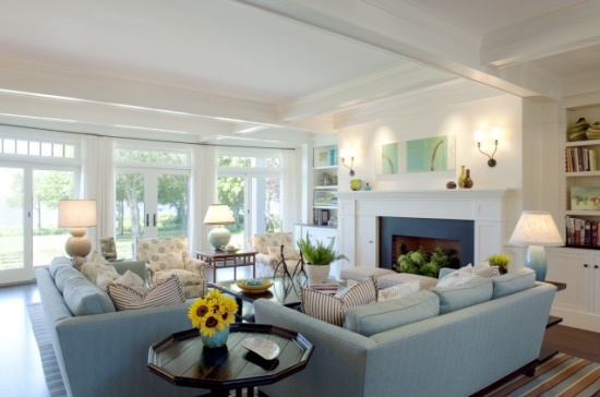 House envy furniture layout big or small space you 39 ve - How to arrange two sofas in living room ...