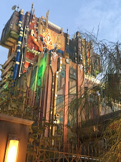 Guardians of the Galaxy Mission Breakout Exterior