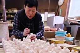 干支の置物作り くまの愛賀合窯