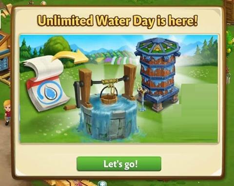 FarmVille2 : Get big Unlimited Water reward! - Games Media