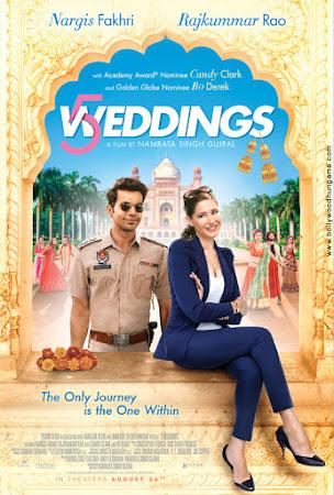 5 Weddings (2018) Movie Poster