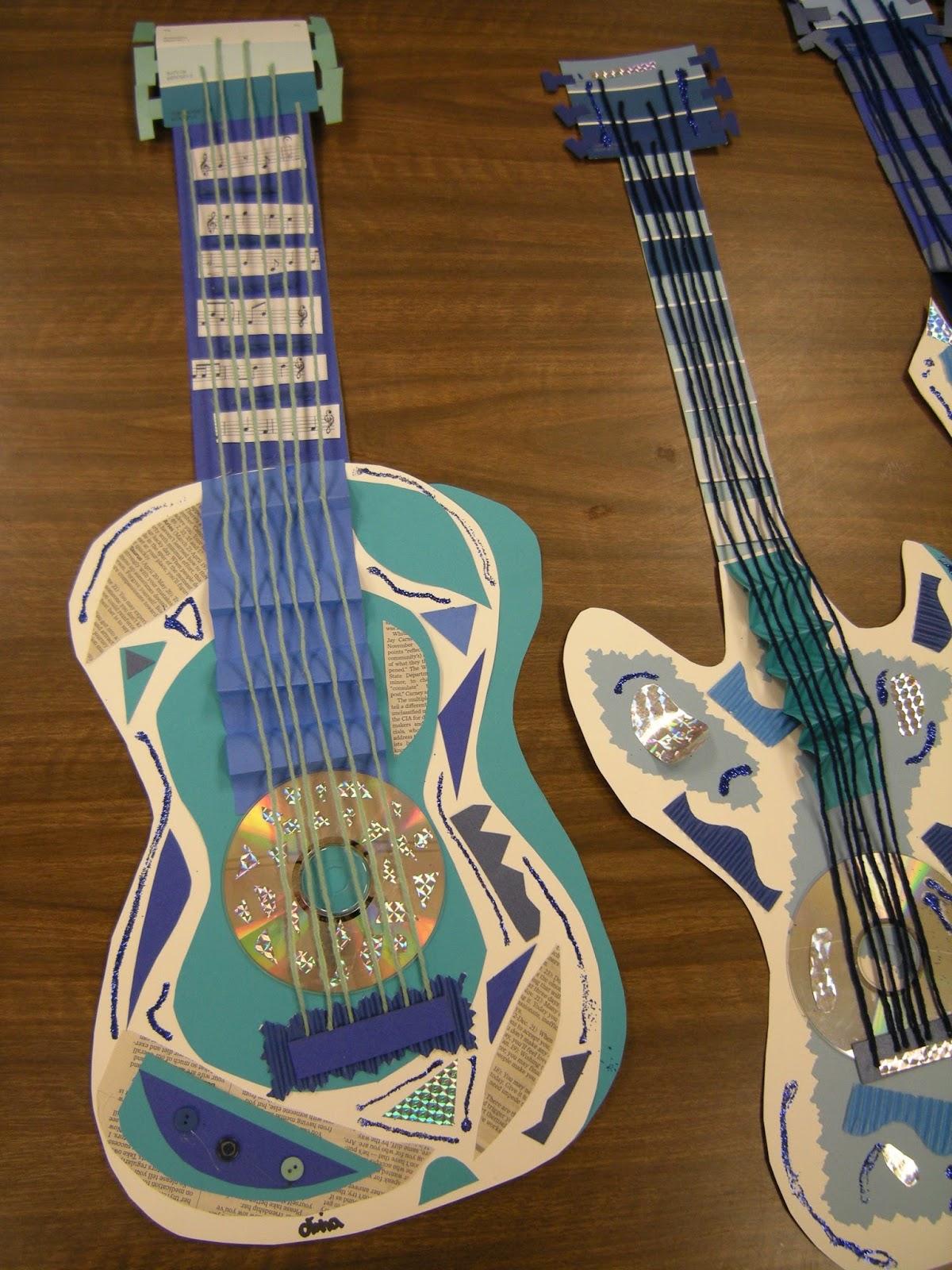 Artolazzi Picasso Blue Period Guitars