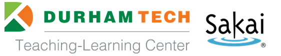 Durham Tech Teaching-Learning Center and Sakai logs