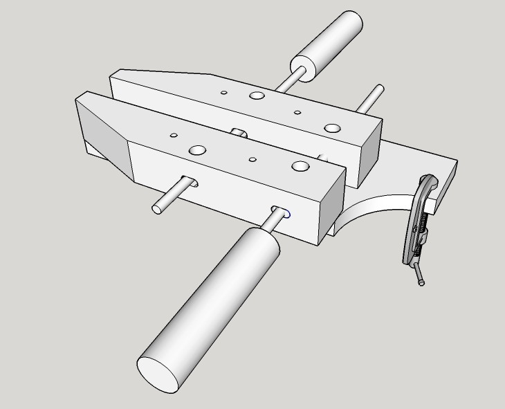 Astounding Wisdom Of The Hands Hand Screw Table Vise Pabps2019 Chair Design Images Pabps2019Com