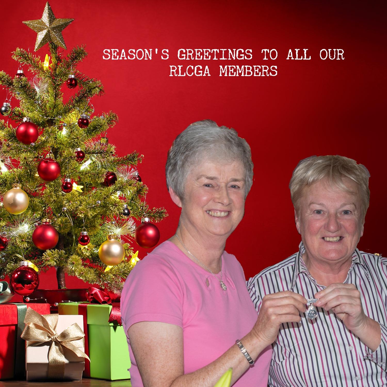 Renfrewshire Ladies County Golf Association Seasons Greetings To