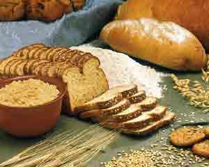 Vida e saúde com cereais integrais