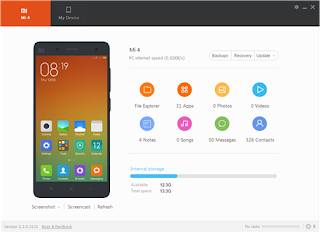 Download Xiaomi PC Suite Latest Version 3.2.1 For Windows PC
