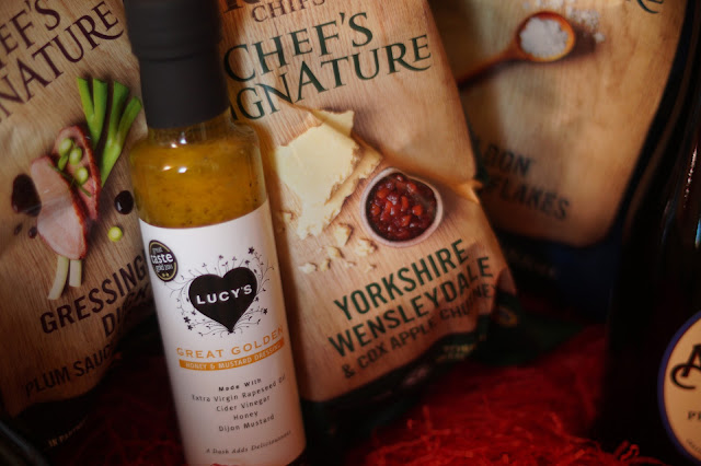 Kettle chips Christmas hamper of east Anglian local produce