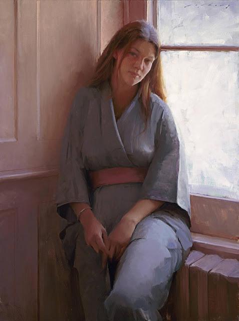 American Realist Figurative Painter- Jeremy Lipking 1975