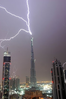 Rayo Burj Dubai