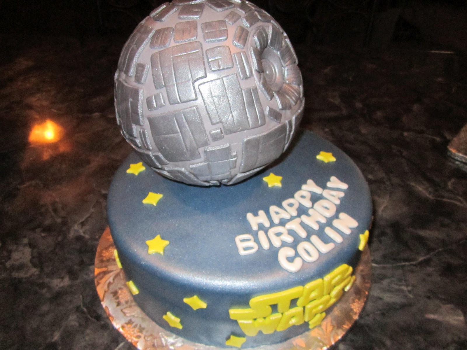 MyMoniCakes: Star Wars Death Star Cake