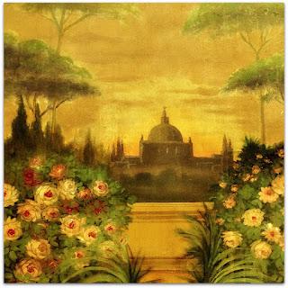 Decoração 'Templo das Flores', Solar dos Câmara