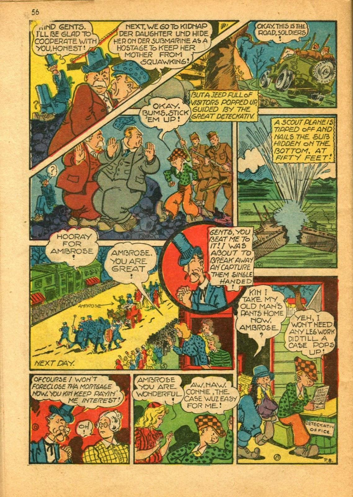 Read online Super-Magician Comics comic -  Issue #11 - 56