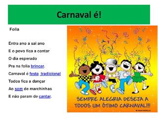 Carnaval escola