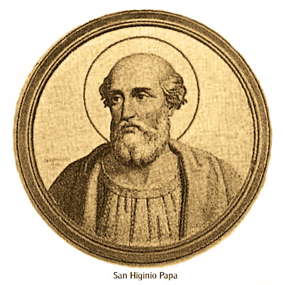 Resultado de imagen para Papa San Higinio