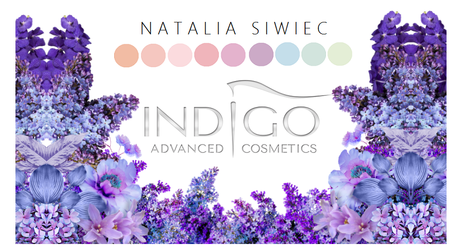 indigo, kolekcja siwiec, hybrydy, nails, inspirationnails, manicure, wakacyjne, hbrydowe mani, hellosummer, indigo ciobella, discotecakiss, olala
