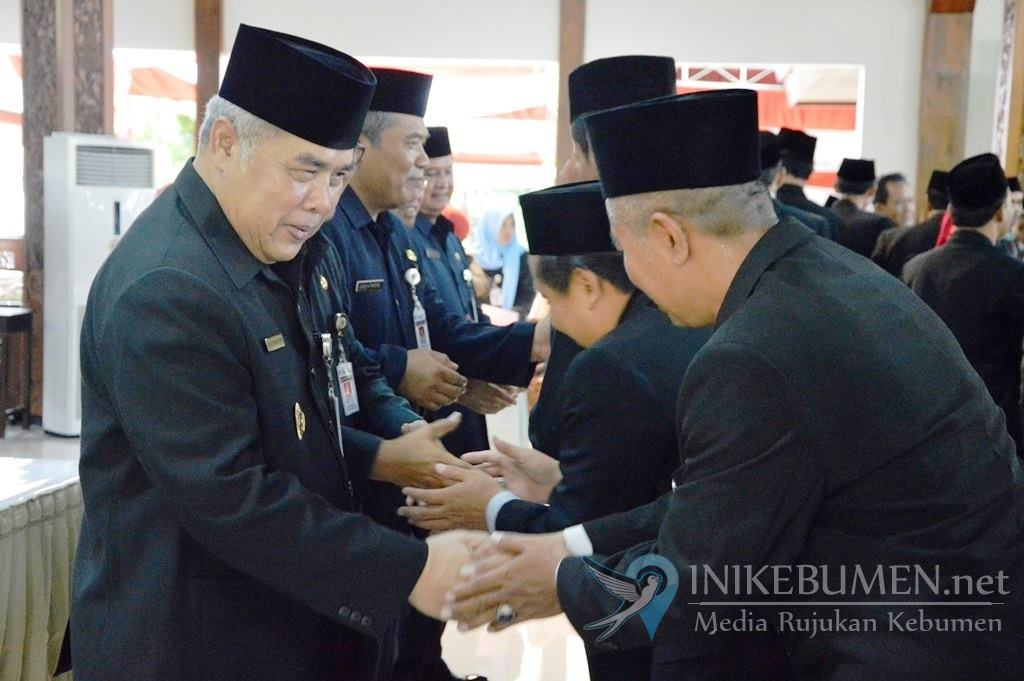 Baru Tiga Hari Jabat Bupati Kebumen, Yazid Mahfudz Geser 179 Pejabat