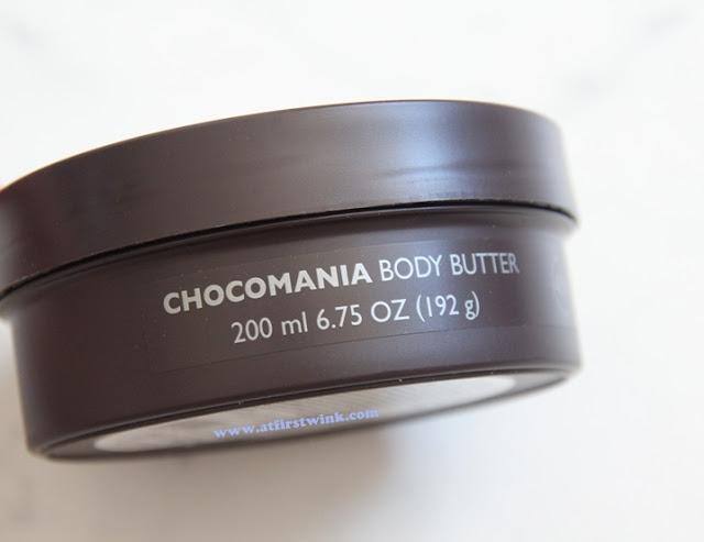 chocomania body butter