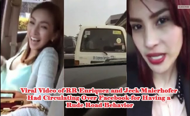 Viral Video of RR Enriquez and Jeck Maierhofer Had Circulating Over Facebook for Having a Rude Road Behavior