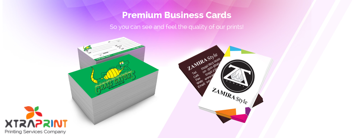 Xtraprints is a digital printing services company: Business card ...