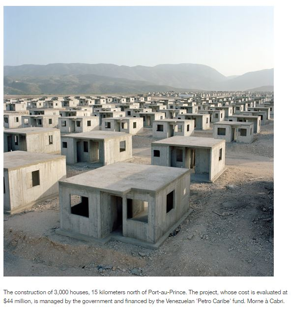 haiti cast housing project