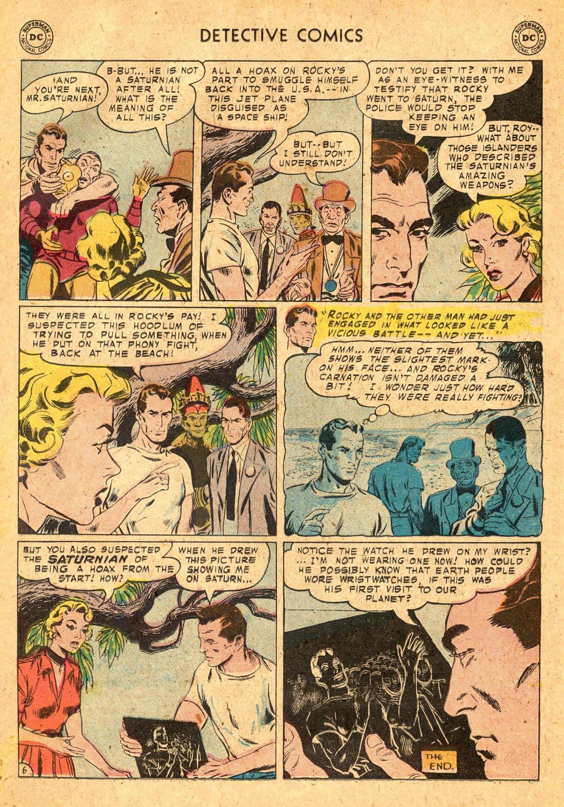 Read online Detective Comics (1937) comic -  Issue #255 - 23