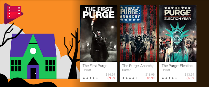 Google Play Movies discounted for Halloween