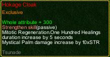 naruto castle defense 6.0 Stunade Hokage cloak detail