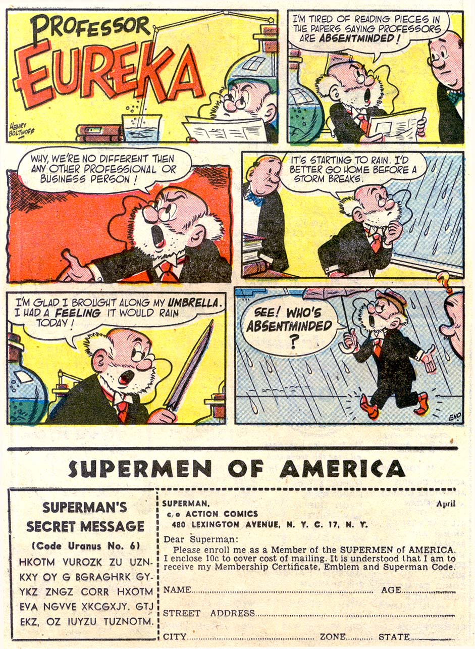 Read online Action Comics (1938) comic -  Issue #179 - 24